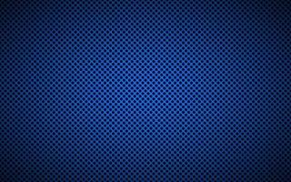 perforerad blå metallisk bakgrund. abstrakt bakgrundsillustration för rostfritt stålteknik vektor