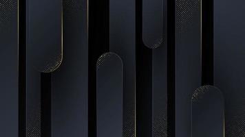 abstrakter Hintergrund mit Luxusgoldbesatz. vektor
