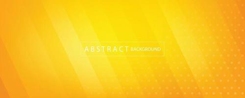 abstrakter Hintergrund des orange und gelben Banners vektor