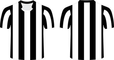 Schiedsrichter T-Shirt Mock-Ups vektor