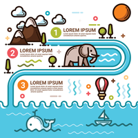 Vattencykel Infographic