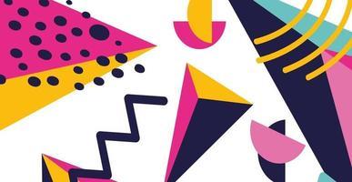 abstrakt geometrisk bakgrund vektor