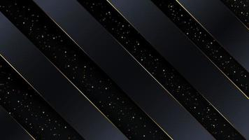 lyxig abstrakt bakgrund med guldkant. vektor