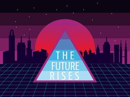 Enastående futurismvektorer