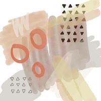 moderner handgemalter Aquarelldesignhintergrund vektor