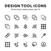 design ikon mall vektor