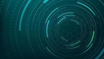abstrakte Linien und Punkte verbinden den Hintergrund. Technologieverbindung digitales Daten- und Big-Data-Konzept. vektor