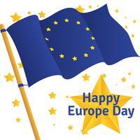 Europa-Tag Vektor Hintergrund