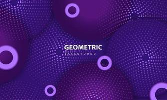 abstrakt lila färgbakgrund. texturerat geometriskt element design med prickar dekoration.