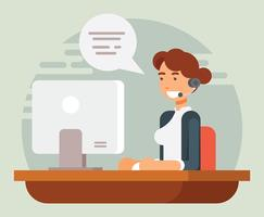 Kundenservice Charakter