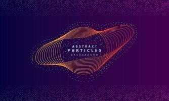 dynamischer abstrakter Partikelhintergrund mit lila Überlappungsschichten. Textur mit Glitzerpunkten Elementdekoration.