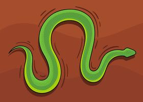 Grüne Schlange vektor