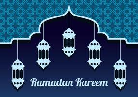 Ramadan Vektor Hintergrund