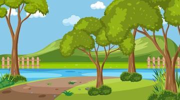 tom natur park landskap scen
