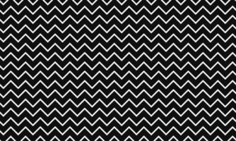 abstrakt svartvitt sicksackmönster vektor