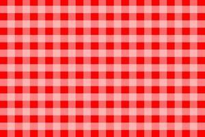roter Gingham-Musterhintergrund vektor