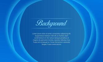glänsande blå våglinjer bakgrund vektor