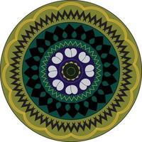 abstrakt mandala design vektor