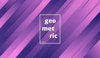 minimaler geometrischer Hintergrund mit Verlaufsfarben. Vektorillustration vektor