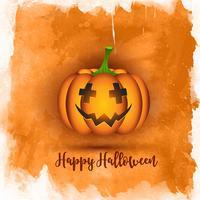Akvarell Halloween bakgrund