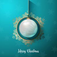 Dekorativ julgran bakgrund