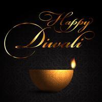 Dekorativer Lampenhintergrund für Diwali