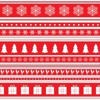 Weihnachtsmuster Hintergrund vektor