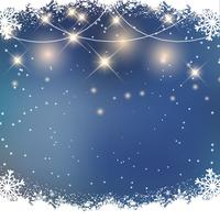 Weihnachten Schnee Hintergrund vektor