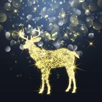 Sparkle Christmas Hirsch