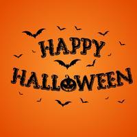 Glad Halloween bakgrund