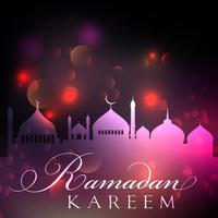 Abstrakter Ramadan-Hintergrund vektor