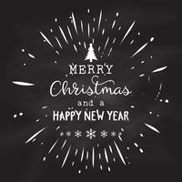 Tafel Weihnachtsdesign