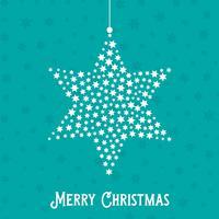 Weihnachtsstern Hintergrund vektor