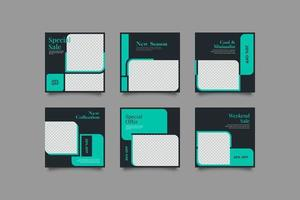Dynamisches Marketing Social Media Post Template Bundle