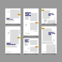 Social Media OOTD Bundle Kit Vorlage