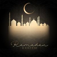 Ramadan-Hintergrund vektor