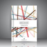 Abstrakte Broschüre Design