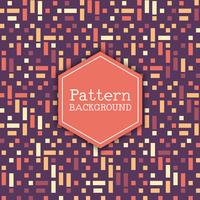 Retro Muster Hintergrund vektor
