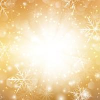 Gyllene julbakgrund