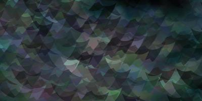 mörkblå vektorstruktur med triangulär stil. vektor