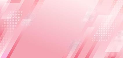 abstrakta rosa diagonala ränder geometriska med halvton effekt bakgrund. vektor