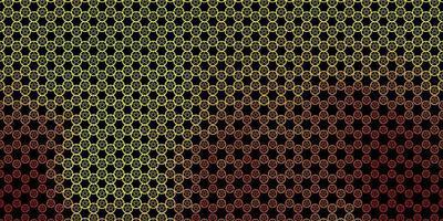 dunkelgrüne, gelbe Vektorbeschaffenheit mit Religionssymbolen. vektor