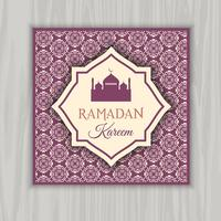 Ramadan Kareem Einladung vektor