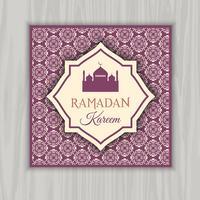 Ramadan Kareem inbjudan
