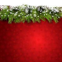 Dekorativ julbakgrund vektor