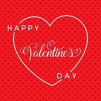 Lycklig Alla hjärtans dag bakgrund