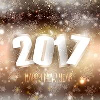 Gott nytt år bakgrund vektor