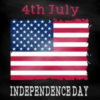 Grunge 4. Juli Hintergrund vektor