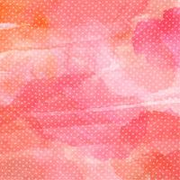 Polka dot akvarell bakgrund