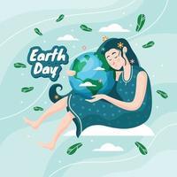 moder jord dag koncept